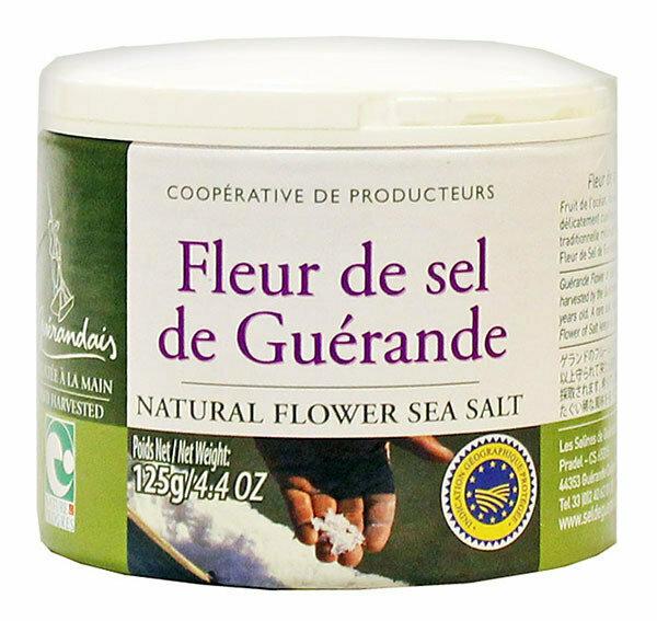 Merisuola Fleur De Sel De Guerande | Sea Salt | SEL DE GUERANDE | 125 G pot