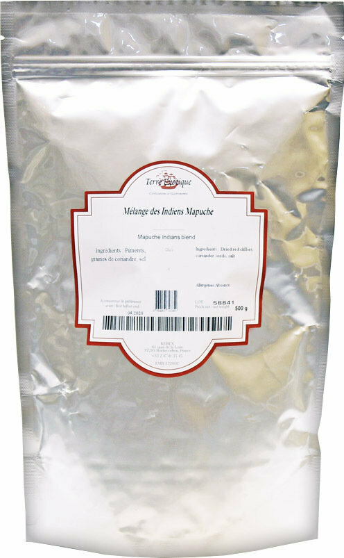 Indian Mapuche Mausteseos | Mapuche's Spice Blend | TERRE EXOTIQUE | 500 G
