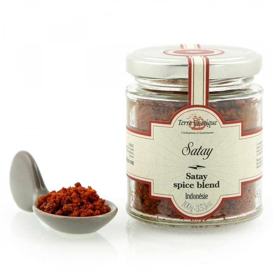 Satay Mausteseos | Satay Spice Blend | TERRE EXOTIQUE | 100 G