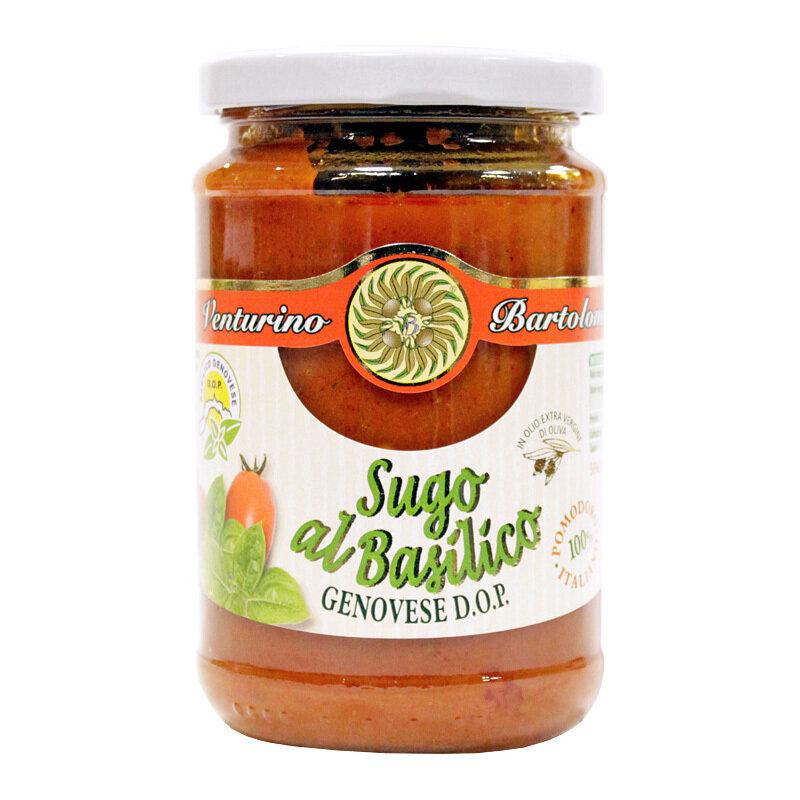 Pastakastike Tomaatti & Basilika Genoese (D.O.P.) | VENTURINO | 290g