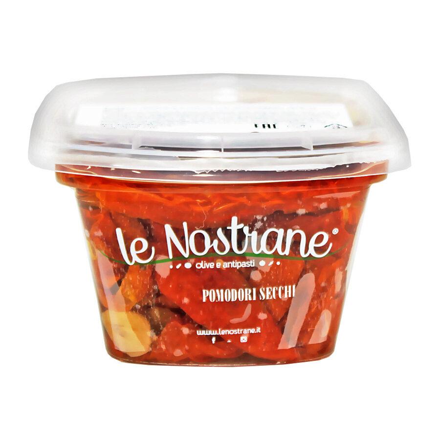 Aurinkokuivatut Tomaatit Öljyssä   Sundried Tomatoes in Oil   LE NOSTRANEN   200g