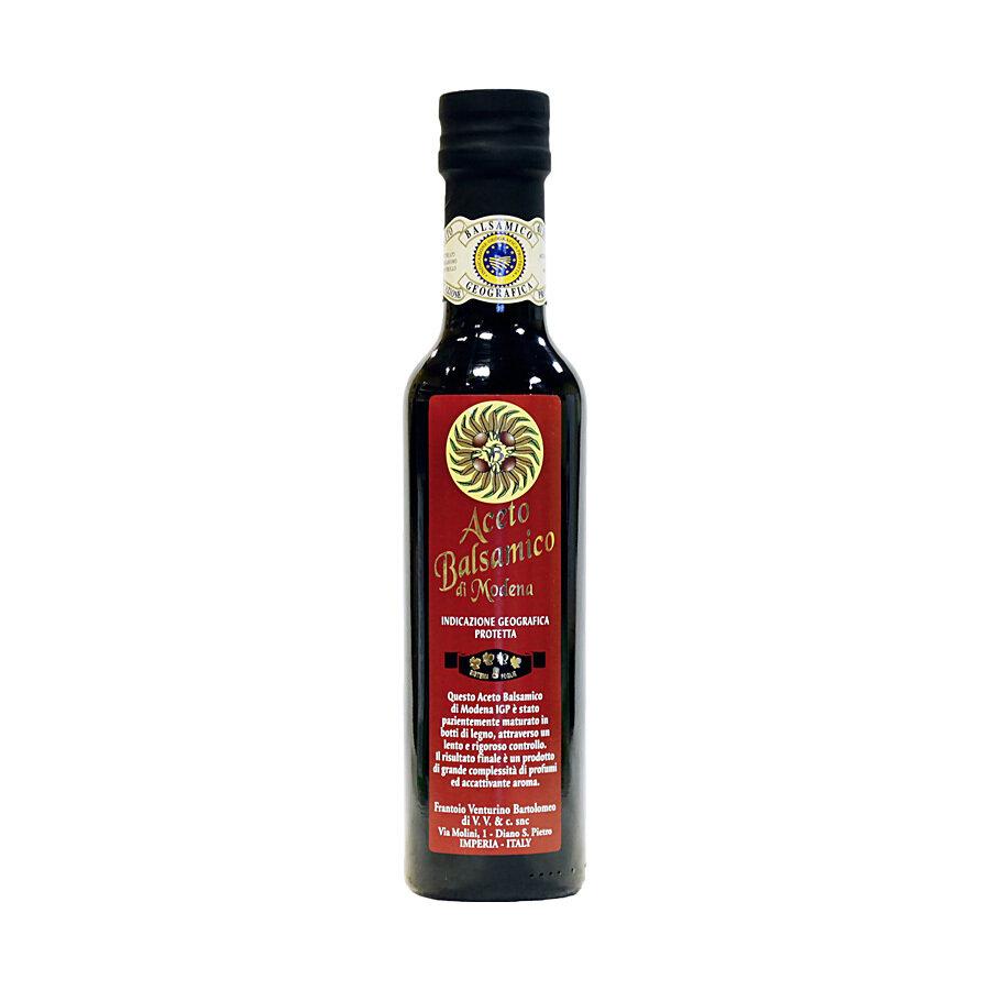 Balsamiviinietikka Modena (I.G.P.)   Balsamic Vinegar 4 Leaves   VENTURINO   250ml