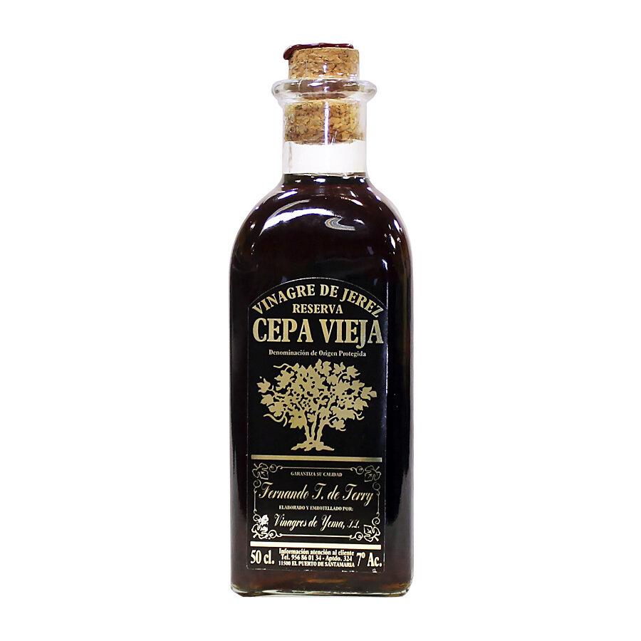 Sherrystä valmistettu etikka Cepa Vieja D.O.P. Reserva   Sherry Vinegar Cepa Vieja   VINAGRES DE YEMA S.L.   500 ML