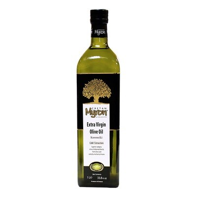 Extra Virgin Olive Oil   CRETAN MYRON   1 L