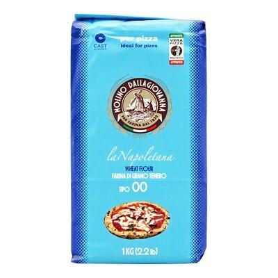 "Pizzajauho La Napoletana ""00"" W-310 | MOLINO DALLAGIOVANNA | 1 kg"