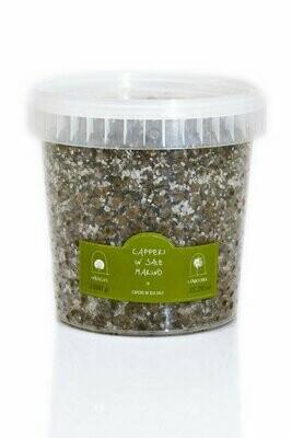 Kaprikset merisuolassa | Big Capers In Sea Salt | LA NICCHIA | 1 kg