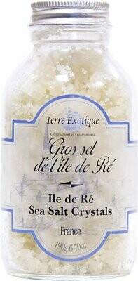 Ile De Re Gray Salt Crystals   TERRE EXOTIQUE   190g