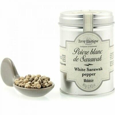 Sarawak White Pepper | TERRE EXOTIQUE | 80 g
