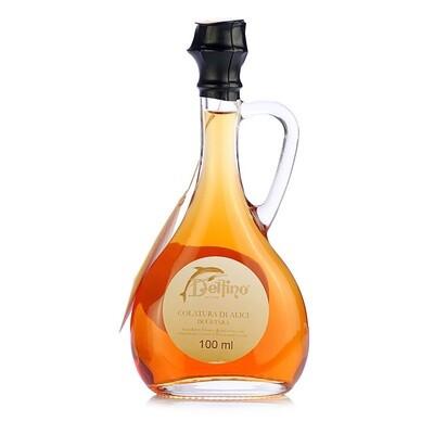 Colatura di Alici Anjovis-Kastike | Fermented Anchovy Sauce | DELFINO | 100 ML