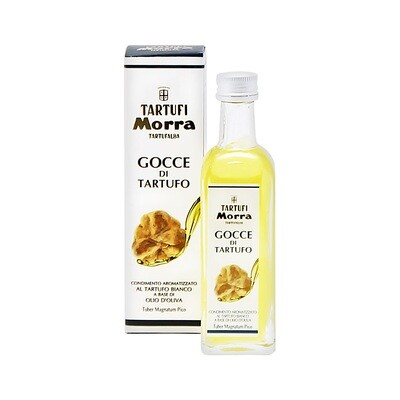 White Truffle Flavoured Olive Oil | TARTUFI MORRA | 55ml