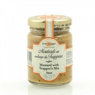 Dijon Mustard With Trapper'S Spice Mix | TERRE EXOTIQUE | 100 G