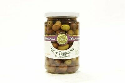Kivelliset Oliivit Taggiasca Suolavedessä | Taggiasca Whole Olives In Brine | VENTURINO | 290g