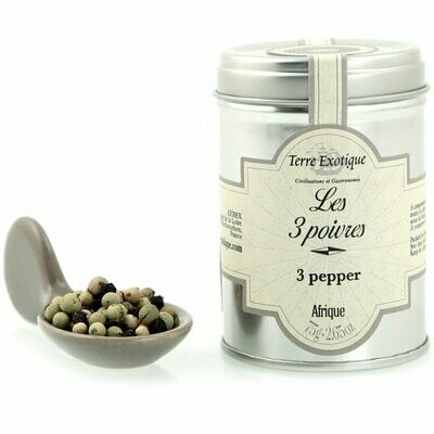 Blend Of Three Penja Peppers | TERRE EXOTIQUE | 75g