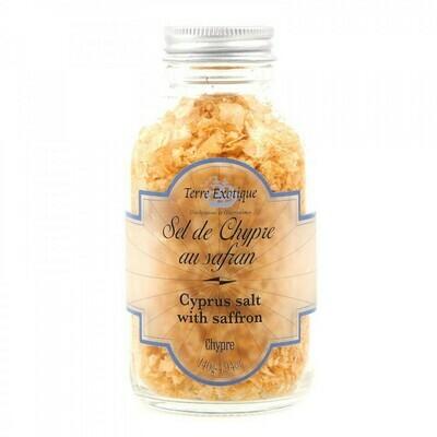 Cyprus Salt With Saffron   TERRE EXOTIQUE   140g