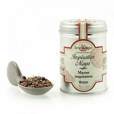 Maya's Inspiration Spices & Cocoa Blend | TERRE EXOTIQUE | 60g