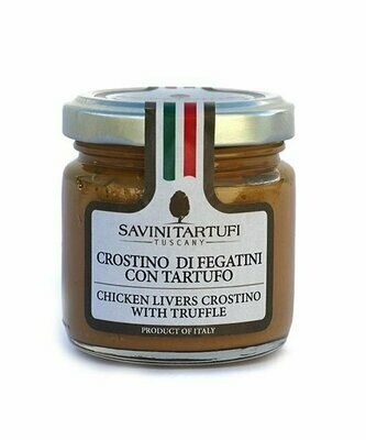 Chicken Livers Pate With Truffle | SAVINI TARTUFI | 90g