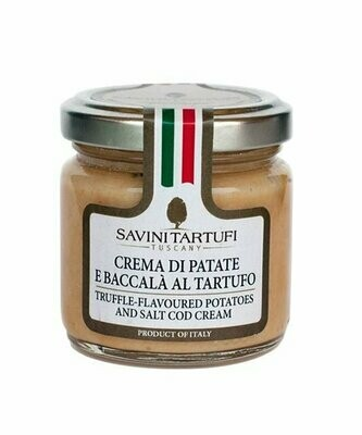 Mousse With Codfish And Truffle | SAVINI TARTUFI | 90g