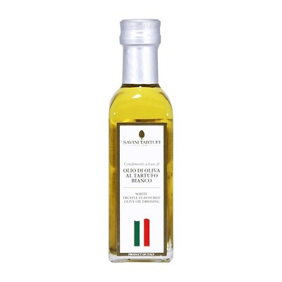 White Truffle Flavoured Olive Oil | SAVINI TARTUFI | 100ml