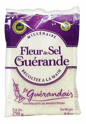 Fleur De Sel De Guerande Merisuola | Sea Salt | LE GUERANDAIS | 250 G