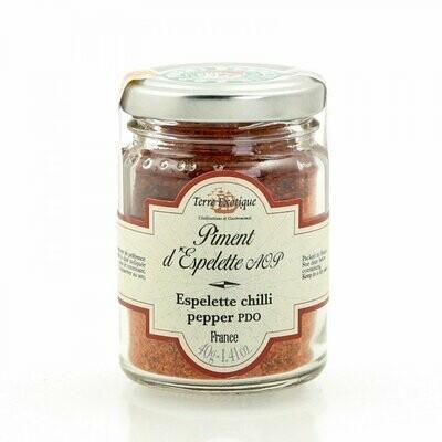 Espelette Chilli Pepper Powder PDO | TERRE EXOTIQUE | 40g