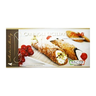Sisilialaiset  täyttämättömät cannolit, pienet | PAGEF | 250g (24 kpl)