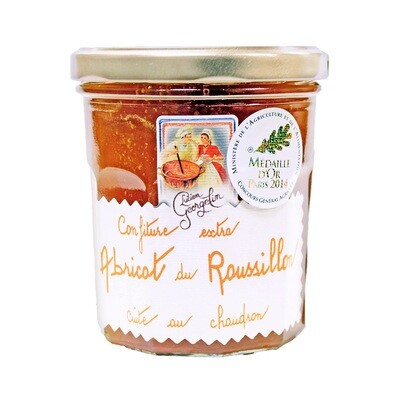 Aprikoosihillo Roussillonista Extra | Apricot From Roussillon Extra Jam | LUCIEN GEORGELIN | 350 G