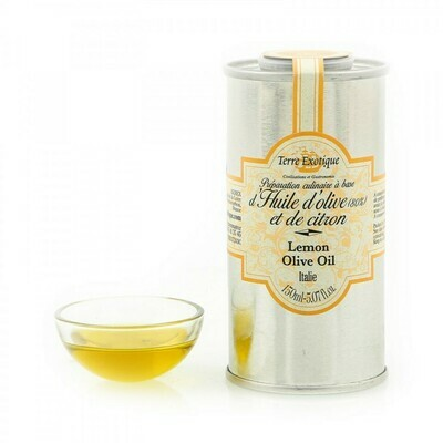 Lemon Flavored Olive Oil   TERRE EXOTIQUE   150 ML