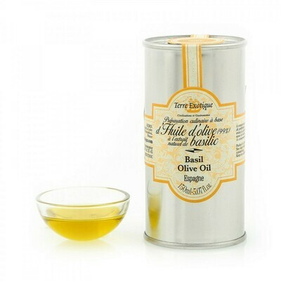 Basil Flavored Olive Oil   TERRE EXOTIQUE   150 ML