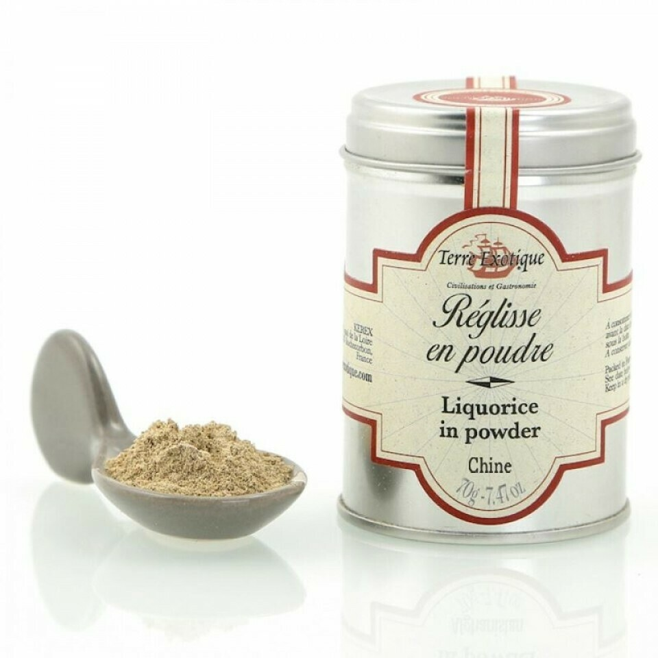 Lakritsijauhe | Liquorice In Powder | TERRE EXOTIQUE | 70 G
