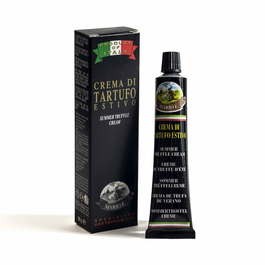 Kesätryffelitahna, Mustista Tryffeleistä | Black Truffle Cream | MARIO F. | 50g