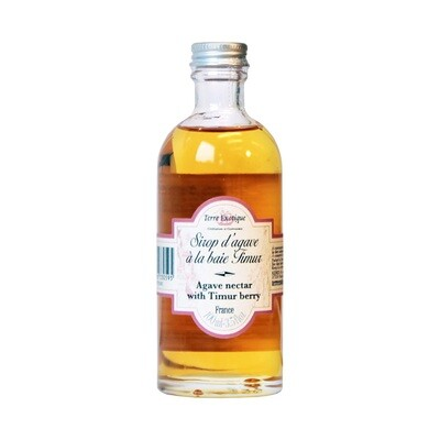 Agave Syrup With Timur Berry | TERRE EXOTIQUE | 100ml