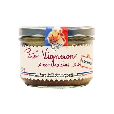 Vigneron Terriini & Bordeaux-Greippi | Vigneron Terrine With Grapes Of Bordeaux | LUCIEN GEORGELIN | 220g