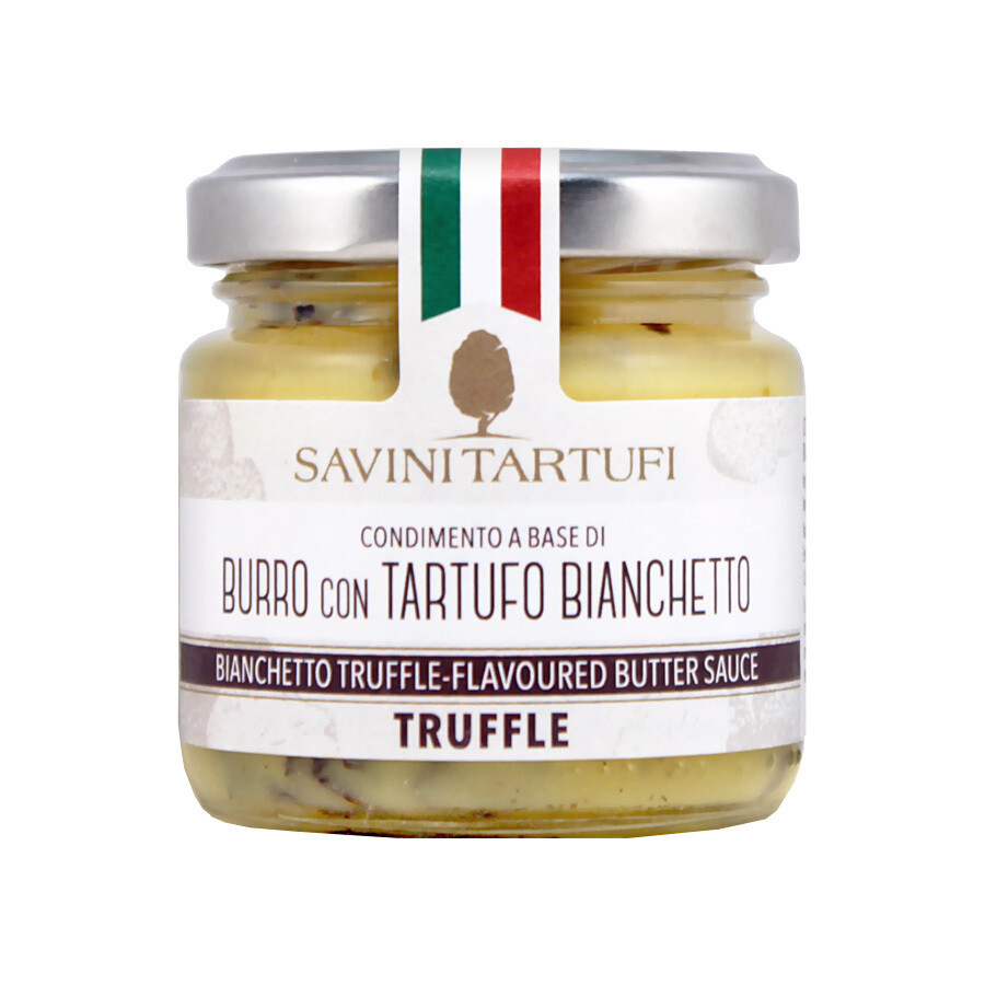 Butter Cream With Bianchetto Truffle | SAVINI TARTUFI | 80g