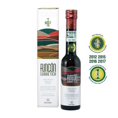 Luomu Ekstraneitsytoliiviöljy Rincón de la Subbética DOP   Organic EVOO Rincon   ALMAZARAS DE LA SUBBETICA   250 ML