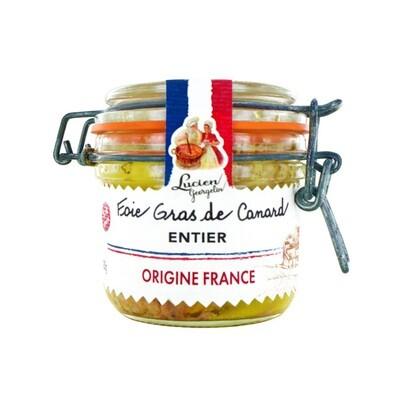 Ankanmaksa Alkuperä Ranskasta | Whole Duck Foie Gras Origin France | LUCIEN GEORGELIN | 180g