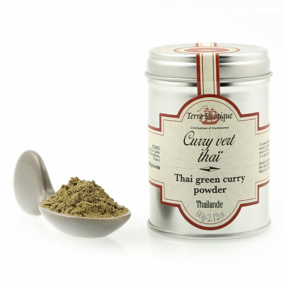 Thai Green Curry Powder | TERRE EXOTIQUE | 60 g