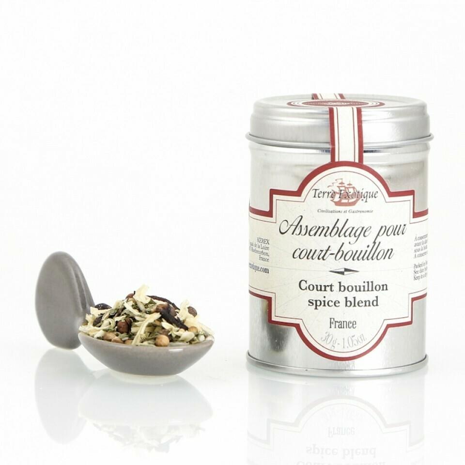 Court-bouillon Mausteseos | Court-bouillon Spice Blend | TERRE EXOTIQUE | 30g
