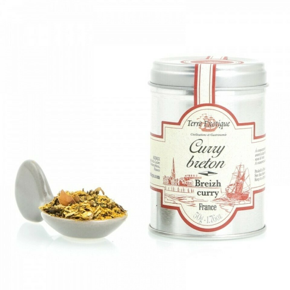 Bretagne Сurry | Breton Curry | TERRE EXOTIQUE | 50g