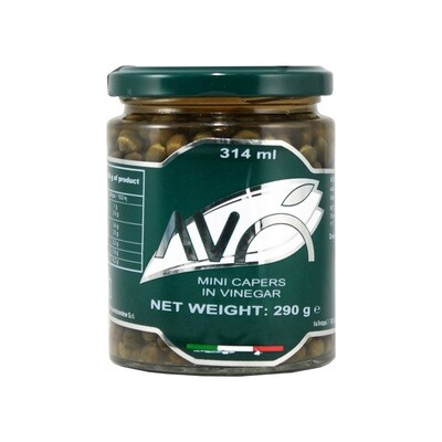 Pienet Kaprikset Viinietikassa | Small Capers In Wine Vinegar | AVO | 290 G