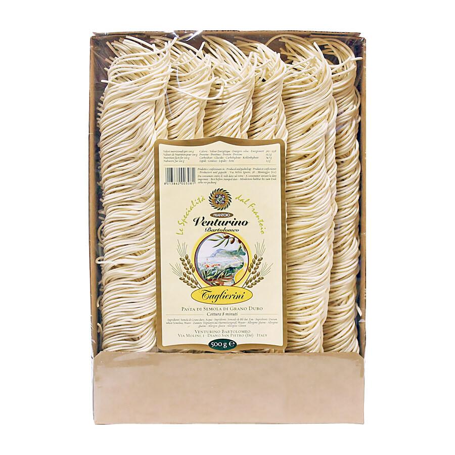 Taglierini Pasta | Ligurian Pasta | VENTURINO | 500 G