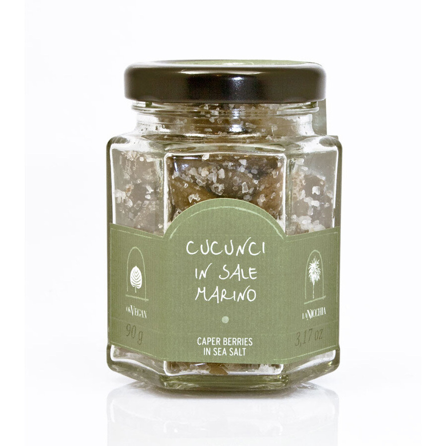 Kaprismarjat Merisuolassa | Caper Berries In Sea Salt | LA NICCHIA | 90 G