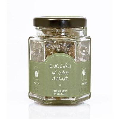 Kaprismarjat Merisuolassa   Caper Berries In Sea Salt   LA NICCHIA   90 G