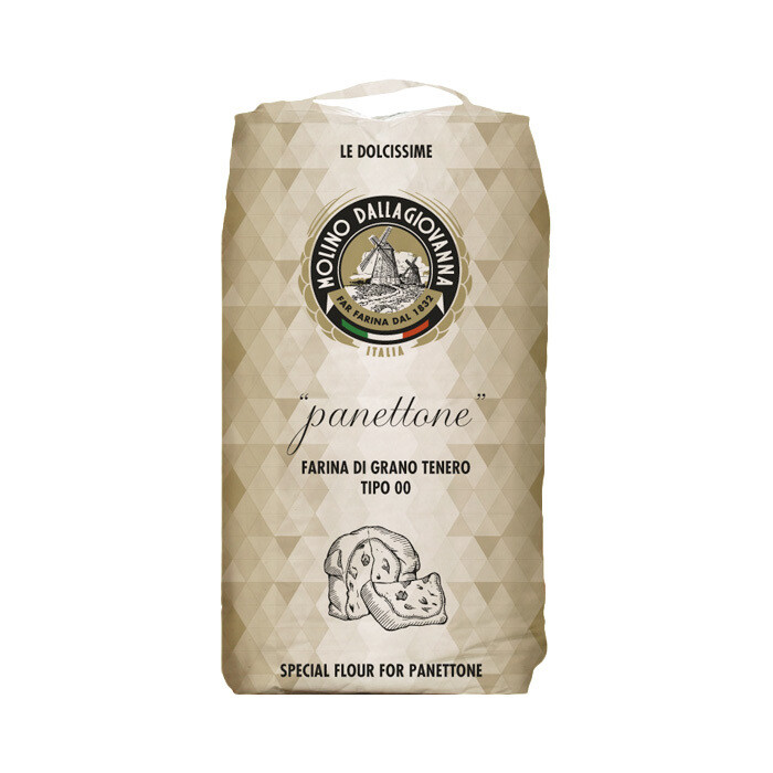 "Panettone Jauho ""00"" W-390 | Panettone Flour | MOLINO DALLAGIOVANNA | 5 KG"