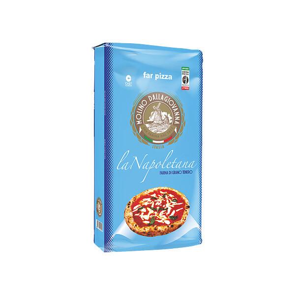 Pizza Flour La Napoletana-00 W-310 | MOLINO DALLAGIOVANNA | 5 KG