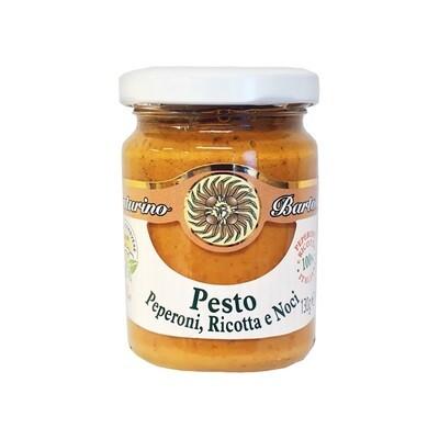 Pesto Paprikoiden, Ricotta ja Saksanpähkinöiden kanssa | Pesto With Peppers, Ricotta And Walnuts | VENTURINO | 130 G