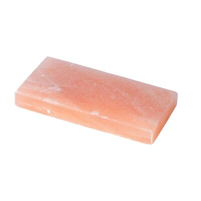 Himalajan Vaaleanpunainen Suolalaatta   Pink Salt Slab   I-LOVE-YOU-FEDERICO   (10*20*2,5cm) 1,2 KG