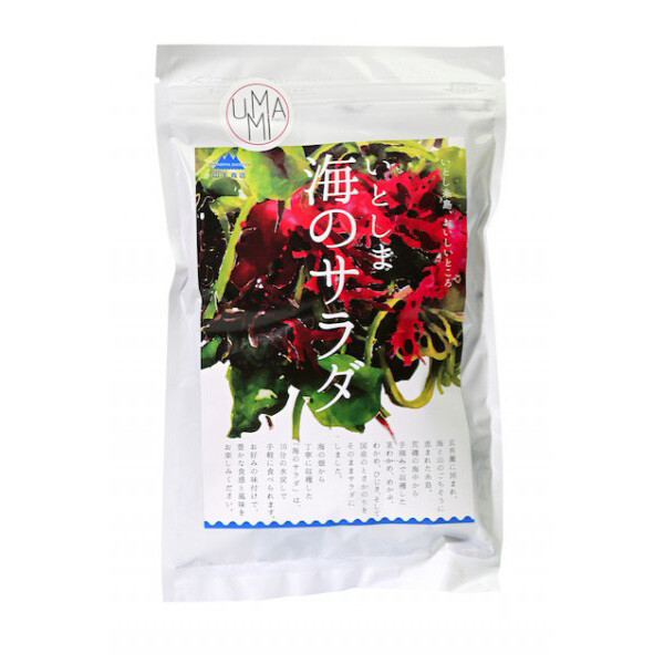 Japanilainen merileväsalaatti | Japanese Seaweed Salad | UMAMI | 20 G