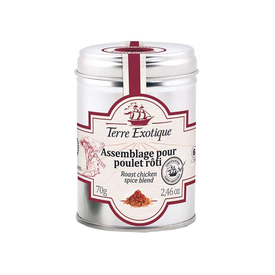Paistettu Kanan Mausteseos | Roast Chicken Spice Blend | TERRE EXOTIQUE | 70 g