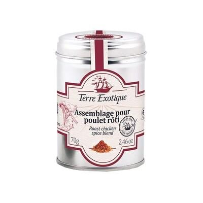 Paistettu Kanan Mausteseos | Roast Chicken Spice Blend | TERRE EXOTIQUE | 70 g