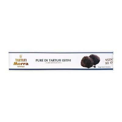 Black Summer Truffles Puree (Tuber Aestivum Vitt.) 57% | TARTUFI MORRA | 50g
